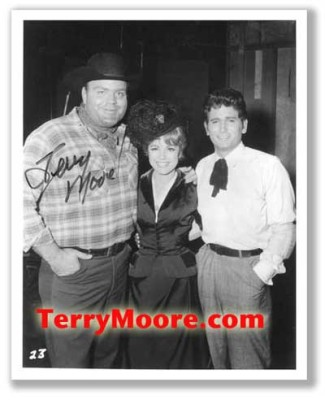 Terry Moore in Bonanza TV Series