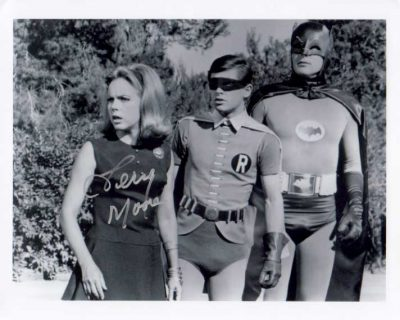 Terry Moore in Batman TV Show