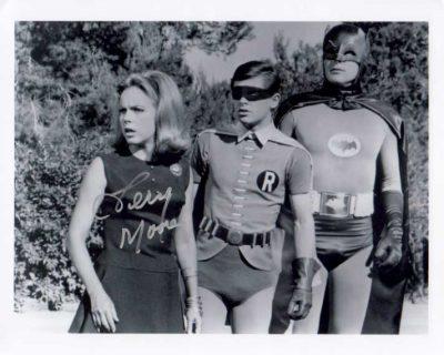 Terry Moore in Batman TV Show
