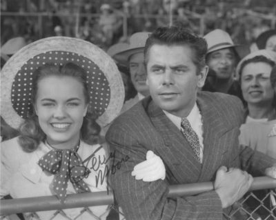 Terry Moore with Glenn Ford