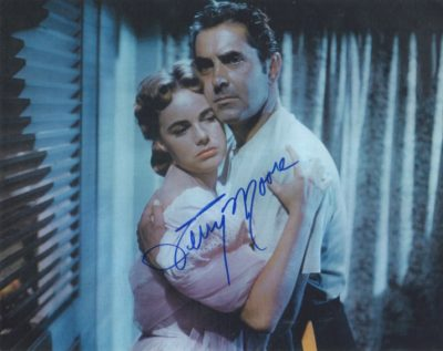 Terry Moore with Tyrone Power