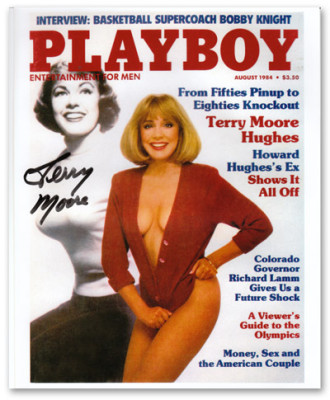 Terry Moore Playboy Cover