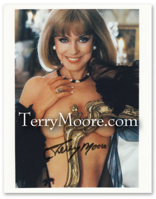 Terry Moore in Playboy