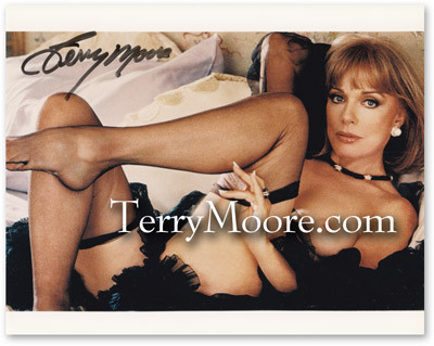 Terry Moore in Playboy 2